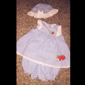 little bitty Dresses - 💙Infant Baby Girl Outfit 💙